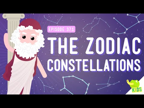 The Zodiac Constellations: Crash Course Kids #37.1