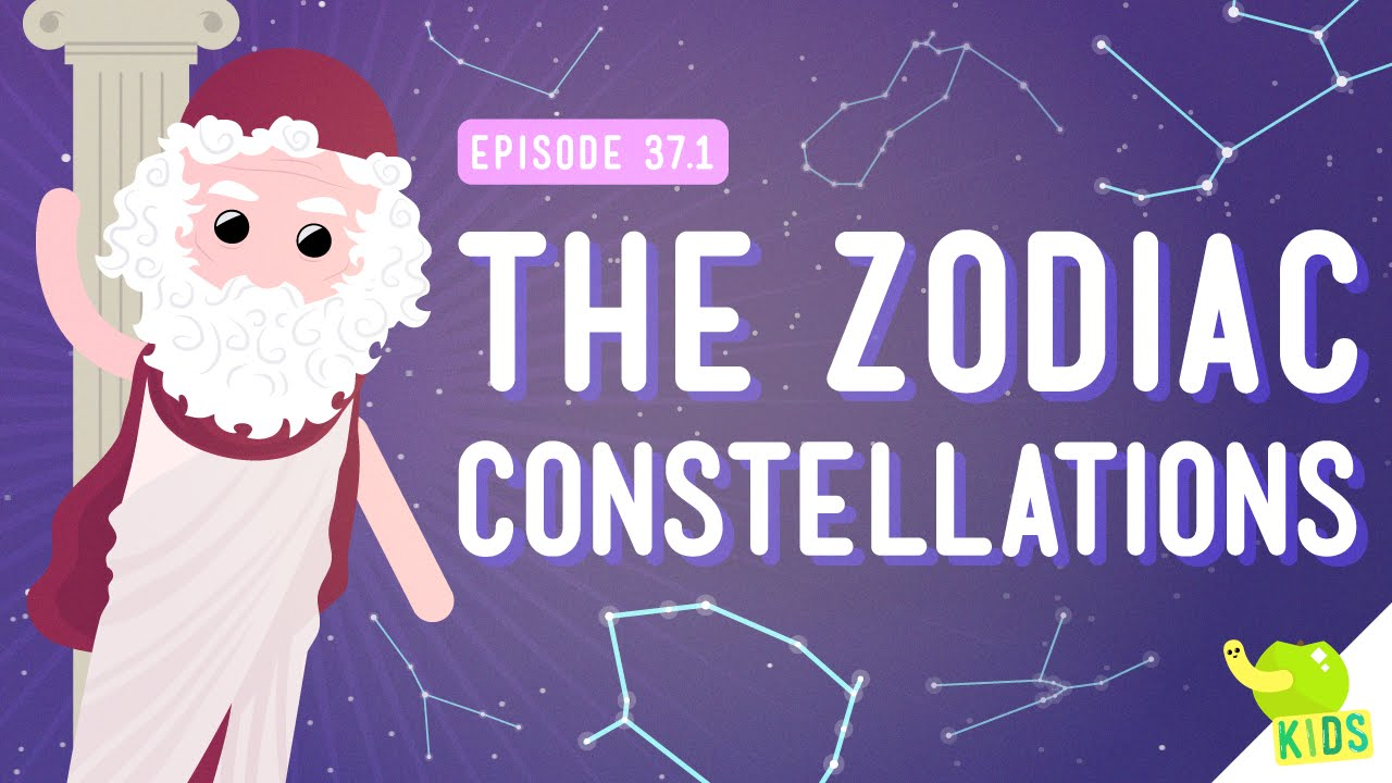 The Zodiac Constellations: Crash Course Kids #37.1 - YouTube [ 720 x 1280 Pixel ]
