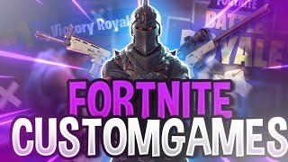 CUSTOM GAMES [GER/PC] 🔴 I Fortnite Battle Royale LIVE I FgE Clan I !coins