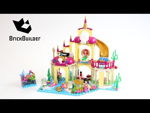 lego-disney-princess-41063-ariel's-undersea-palace---lego-speed-build