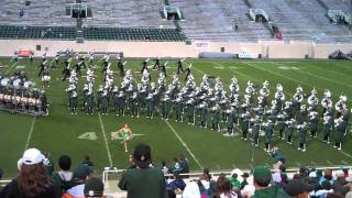 "Spartan Marching Band plays ""Everybody"