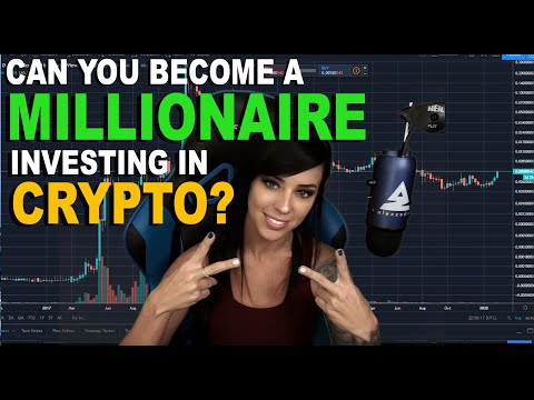 Can you become a millionaire investing in cryptocurrency?