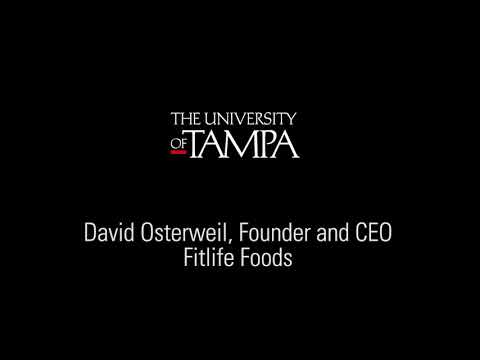 The University of Tampa - Business Network Symposium 2018 - David Osterweil