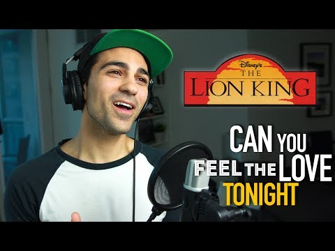 Can You Feel The Love Tonight (Male Part Only) Cover | Disney Cover | Lion King Cover