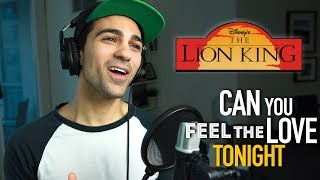 Can You Feel The Love Tonight (Male Part Only) Cover   Disney Cover   Lion King Cover
