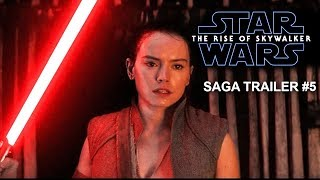 Star Wars  The Rise of Skywalker  SAGA TRAILER #5  Daisy Ridley, Adam Driver