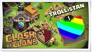 Clash of Clans - Savunmasız Köy #3 | KLAN !!! TROLLiSTAN !