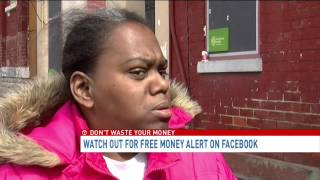 Consumer Alert: Woman loses hundreds in Facebook grant scam