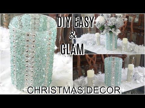 DIY GLAM CHRISTMAS DECOR | EASY DIY HOME DECOR IDEAS