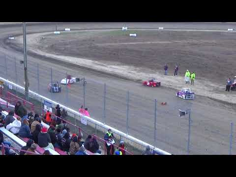 Mini Wedge Heat #2 on 04-27-2018 at I-96 Speedway.