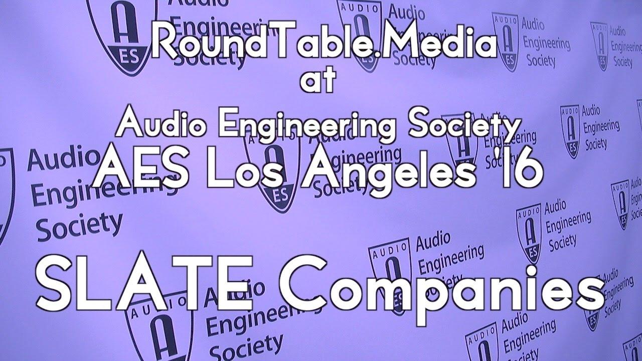 AES 16 Slate Companies' Virtual Microphone