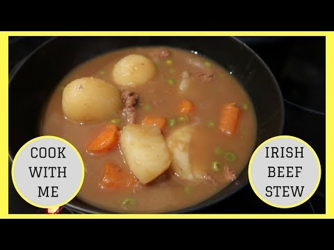 IRISH BEEF STEW || EASY RECIPE || COOKING WITH KAREN