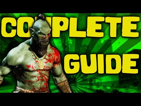 Skyrim - The COMPLETE Guide To The ORCS - Elder Scrolls Lore