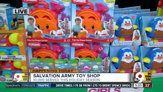 Salvation Army Toy Shop Opens Monday