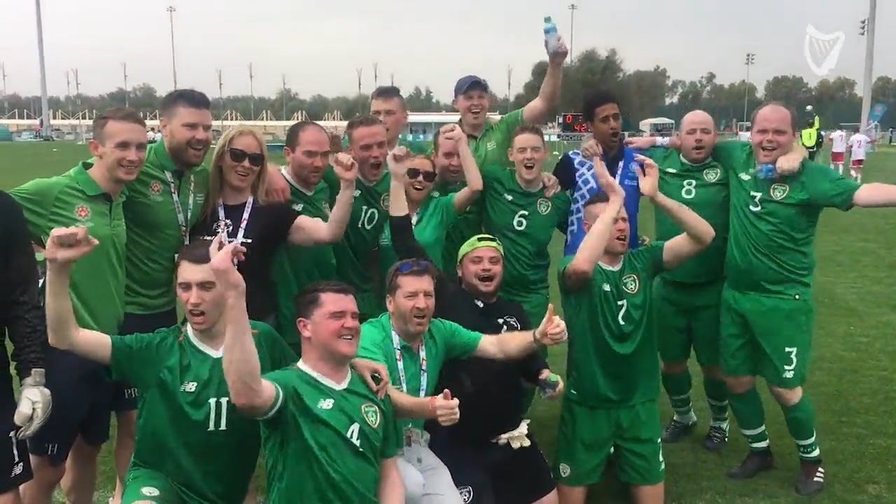 WATCH: Irish Special Olympics Football team clinch last minute winner.