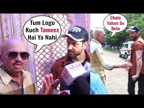 Hrithik Roshan Father Rakesh Roshan ANGRY On Media - Watch Video