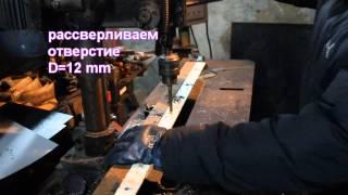 сверлим швеллер(сверление отверстий в металле., 2013-11-15T14:27:46.000Z)