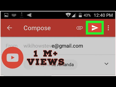 How to send mail on gmail by mobile In Hindi