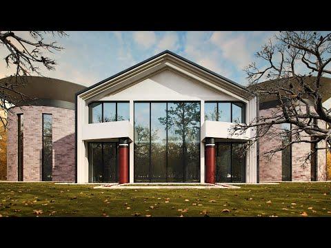 Интересный проект дома