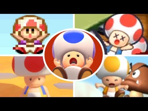 Evolution of Toad Deaths and Game Over Screens (1988-2018)
