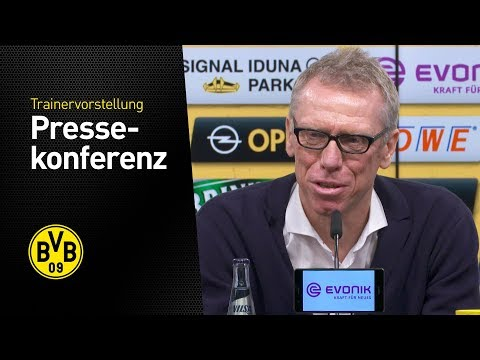 Presentation of peter stöger as new bvb coach! | press conference