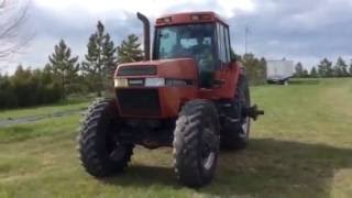 1991 case ih 7130 magnum mfwd tractor
