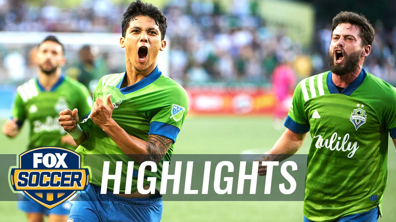 Download Sounders earn historic 6-2 victory in Portland against rival Timbers   MLS Highlights