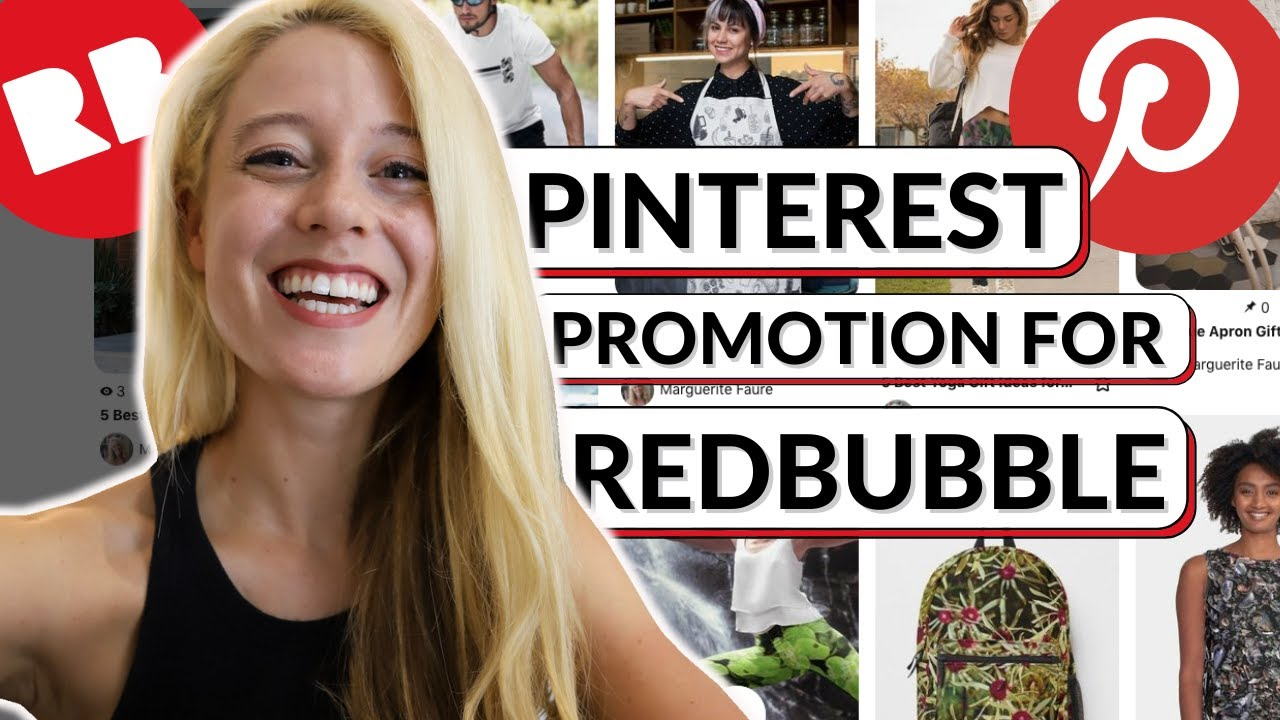 How To Promote Redbubble Products On Pinterest to Increase Sales FREE  Traffic Print on Demand