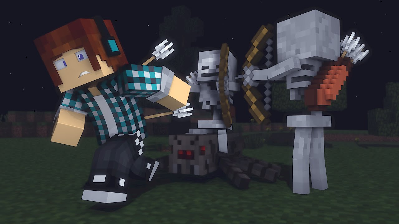 minecraft 10 curiosidades sobre o esqueleto youtube