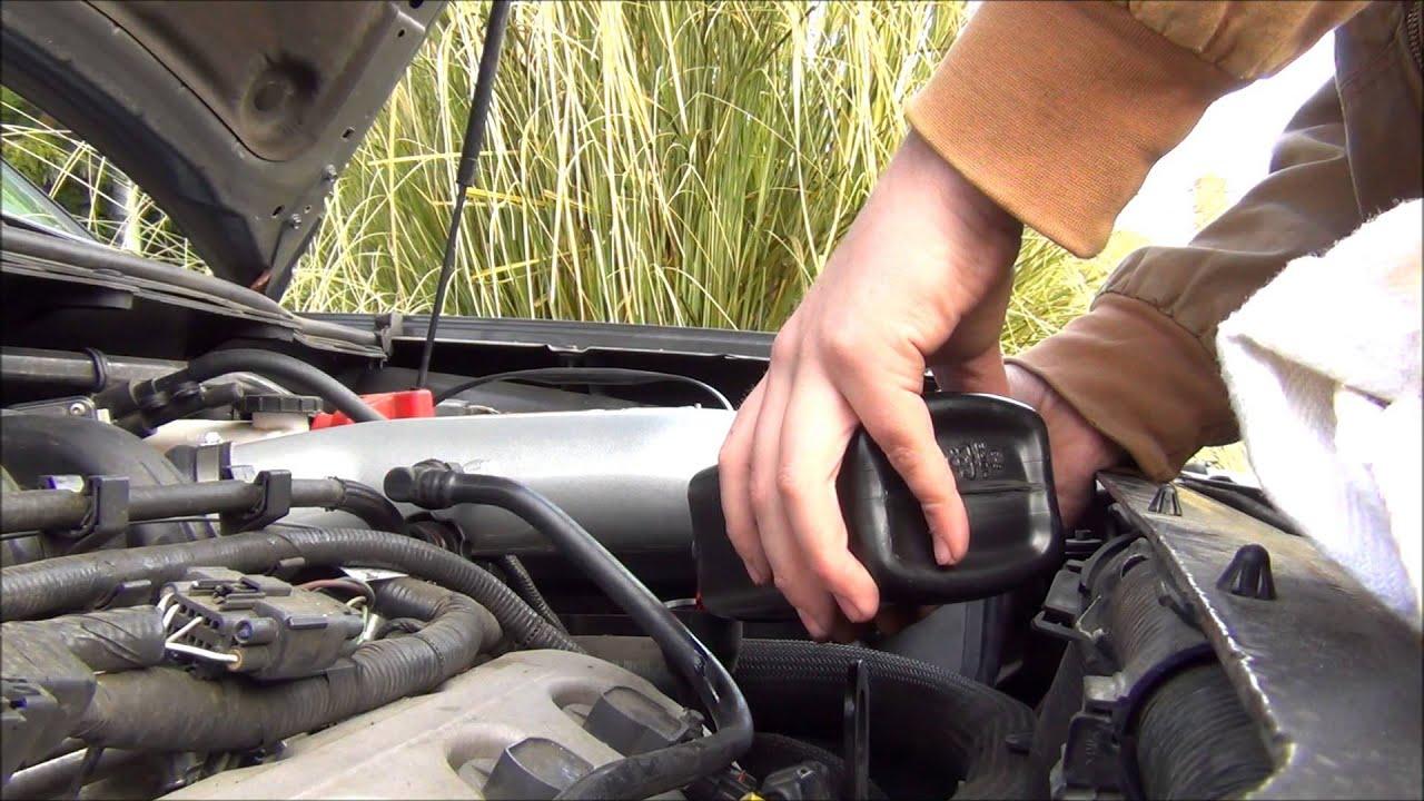 2009-Up Ford Flex Transmission Fluid Change - YouTube