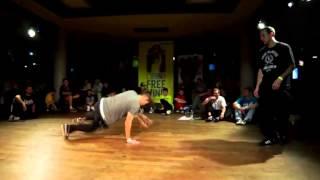 Free Mind 2012   Bboy Battle 1vs1   Zyskill vs Rademenez