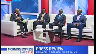 ODM Party members are worried of losing brand after Raila-Uhuru-handshake | KTN News Morning Express