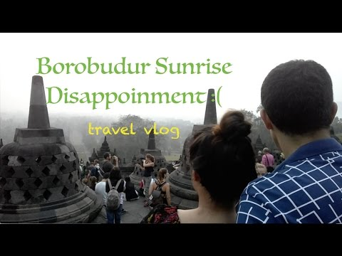 Bali (Jogja), Indonesia Travel Vlog Day 6.1 - Borobudur Sunrise and Prambanan Temple