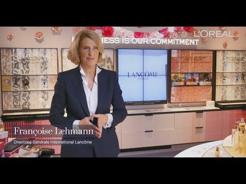 100 secondes pour découvrir : le flagship Lancôme avec Françoise Lehmann et James Rickards