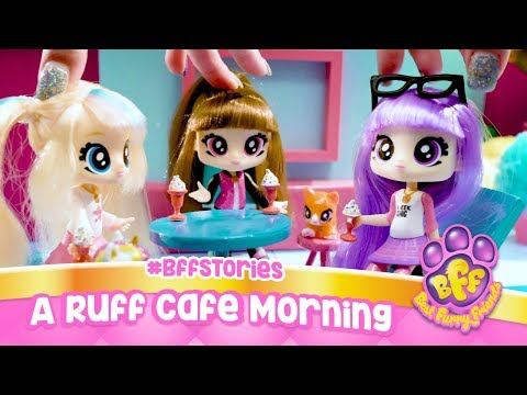 A Ruff Cafe Morning #BFFStories - Best Furry Friends | Webisode | Videos for Kids