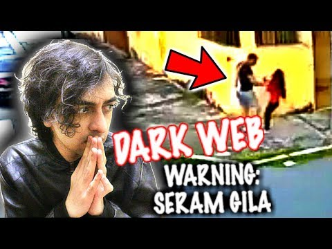DARK WEB * REAL* BUDAK DICULIK **REAL REACTION** WARNING
