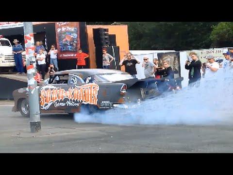 2500 HP ´55 Chevy Bel Air Burnouts