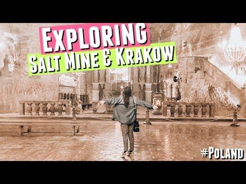 TRAVELING KRAKOW POLAND, Wawel Castle Krakow Poland, Wieliczka Salt Mine Krakow Poland