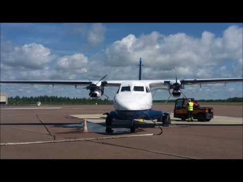 Full Flight Tallinn (TLL) - Kuressaare (URE) Transaviabaltica 16.07.16