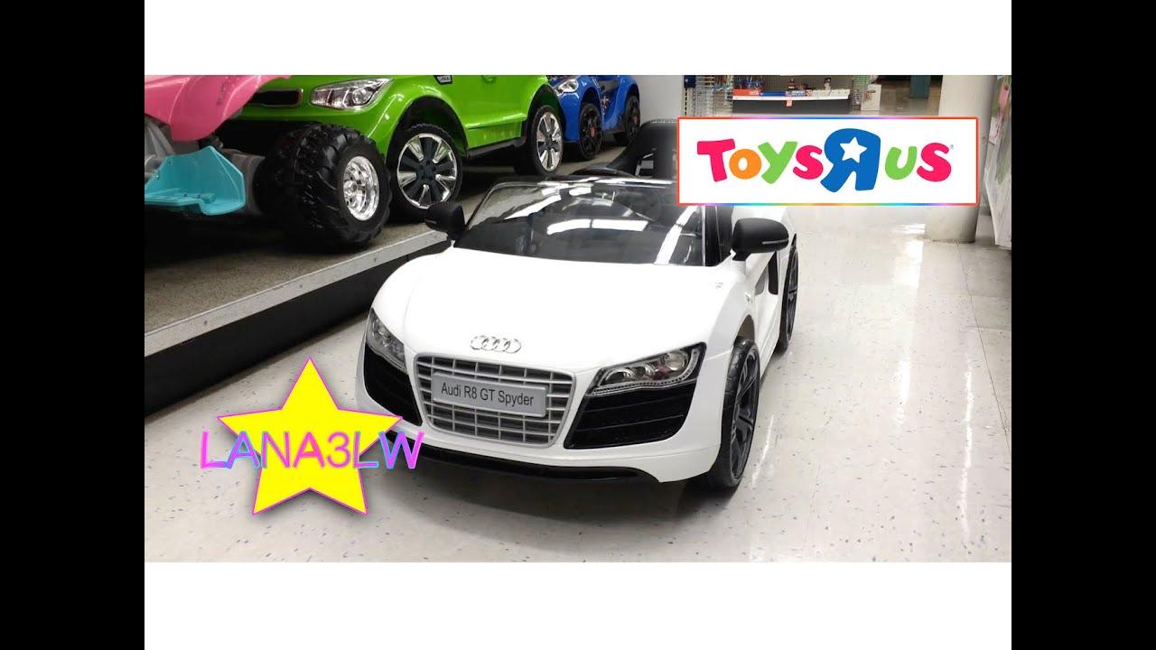 Best Popular Avigo Audi R GT Spyder Volt Quad Kids Ride On - Audi 6v car