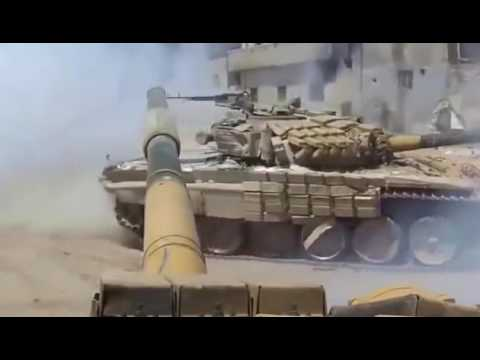 Massive Syrian Army destroyed ISIS fighting ground