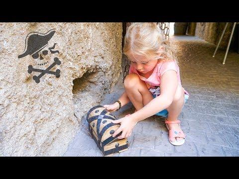 Настя в гостях у пиратов и поиск настоящего клада