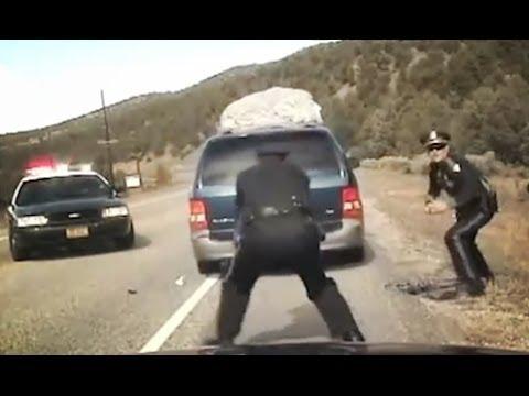 Police Dash Cam - Cops Gone Wild