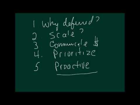 Module 5.2 - Capital Budgeting, Deferred Maintenance and Prioritizing