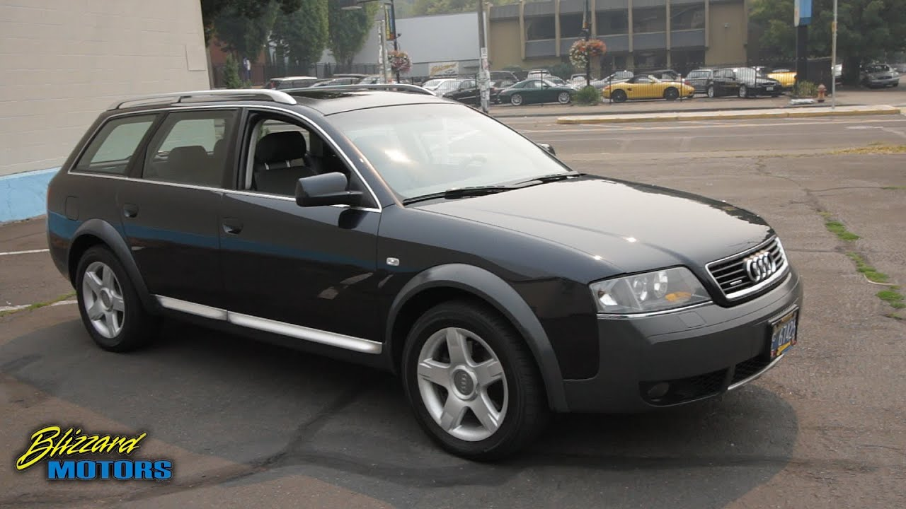 2004 Audi Allroad Youtube