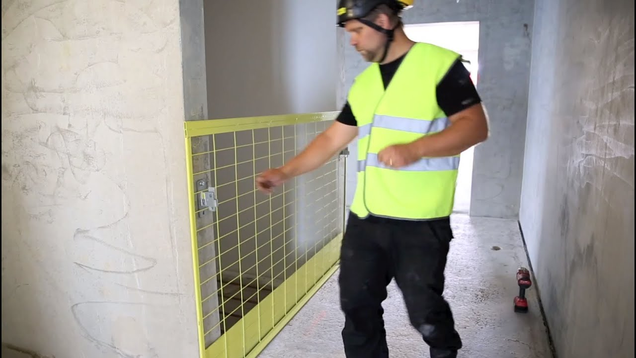 Safetyrespect Edge Protection For Lift Shafts And Openings