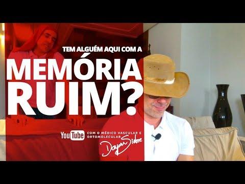 Tem alguém nesse canal que tenha MEMÓRIA RUIM?   Dr. Dayan Siebra