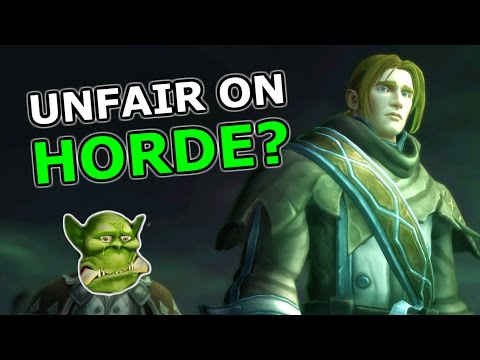 Horde QQ - Is the Anduin Cinematic Unfair On Horde Players?