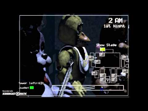 Five nights at freddys part1