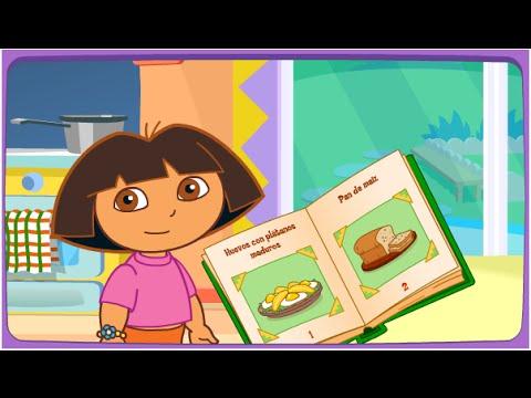 Dora la exploradora dora cocinando en la cocina juegos para ni os en espa ol youtube - Dora la exploradora cocina ...